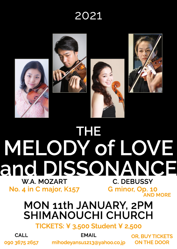 The melody of love and dissonance